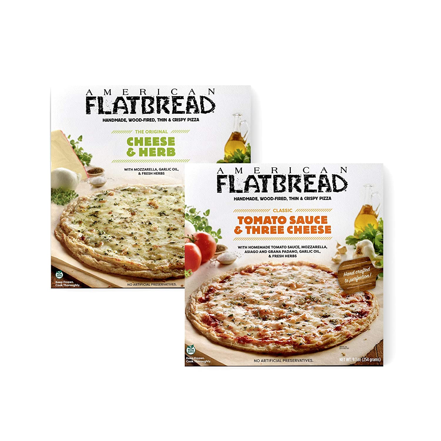 American Flatbread Frozen Premium Max 64% OFF Cheese Mix Lovers Sales results No. 1 Pizza Pack