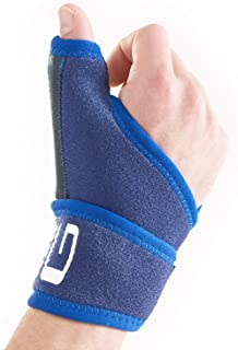 Neo G Thumb Brace - Immobilizer Support for Arthritis, Joint Pain, Thumb Injuries, Tendonitis, Trigger Thumb, Sprains, Sports - Adjustable Compression - Class 1 Medical Device - One Size - Blue