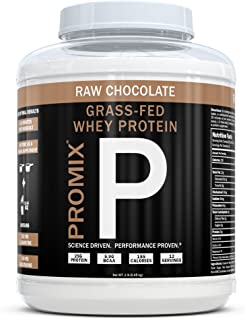 Sponsored Ad - ProMix Nutrition Container of Chocolate Grass-Fed Whey Protein, 1 Pound