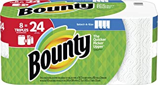 Bounty Select-A-Size, 8 Triple Rolls Equals 24 Rolls