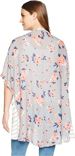 Jersey/Georgette Kimono