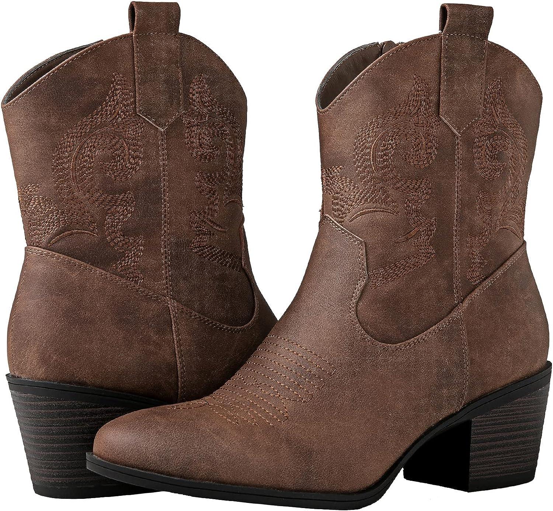 GLOBALWIN Women's The Western Boots