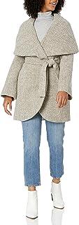 تي تاهاري معطف مارلا تويد لف للنساء