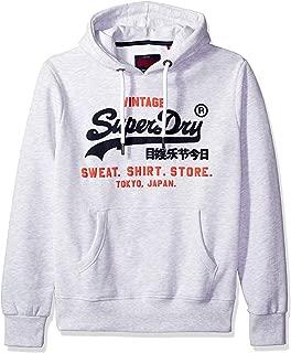 Superdry Men's Sweat Shirt Shop Duo Hoodie Sweatshirt