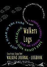 SPIRAL BOUND WALKERS LOG BOOK | GÅRSLEVERANS | GÅVA & VACKER RECORDING SPARER FÖR män och kvinnor | BRA GÅVA: LIV Älskar d...