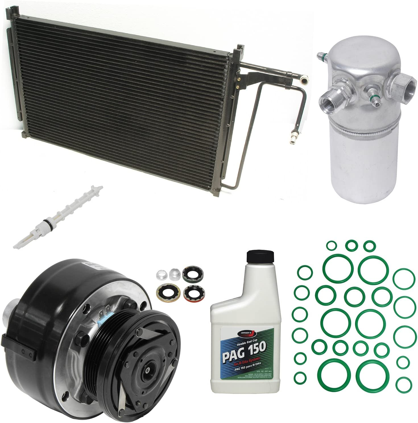 UAC KT 舗 2372A 安心と信頼 A C Compressor Kit Pack and Component 1