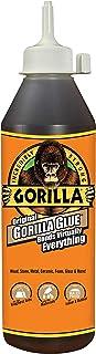 Gorilla Original Gorilla Glue, Waterproof Polyurethane Glue, 18 Ounce Bottle, Brown