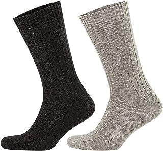 Brown Virgin Wool Blend 1 Pair Manufacturer size: 40-46 UK 6.5-11 Pebble 5810 BURLINGTON Men Leeds Knee-Highs