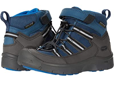 KEEN Kids Hikeport 2 Sport Mid WP (Toddler/Little Kid) (Majolica/Sky Diver) Boys Shoes