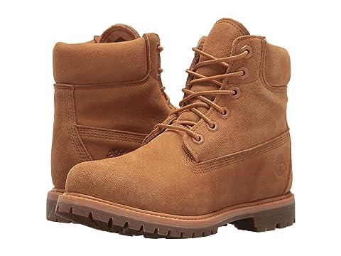 "6"" Premium Boot, Biscuit Suede"