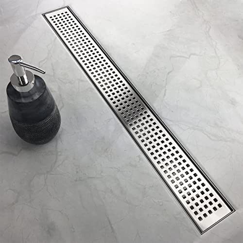 Shower Trench Drain Amazon Com