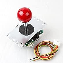 Original Sanwa JLF-TP-8YT Red 4 - 8 Ways Joystick Handle For Arcade Video Games PS3 Xbox 360 KOF SNK