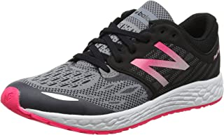 New Balance Girls Zante Black/Pink Sneakers