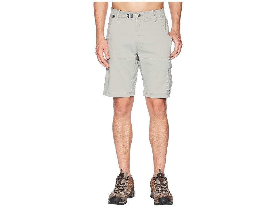 Prana Stretch Zion 10 Short (Grey) Men