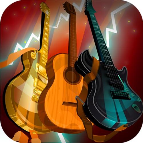 Gitarren. Musikinstrumente Set