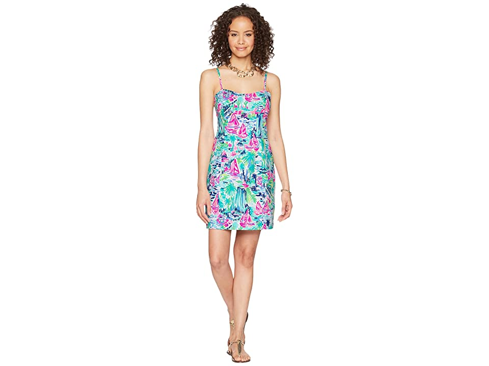 Lilly Pulitzer Shelli Stretch Shift (Multi Salt in the Air) Women