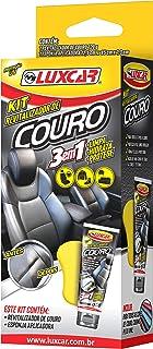 Kit Revitalizador De Couro Luxcar 120 G