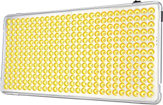 Relassy 300W LED Grow پانل نور - عملکرد تایمر اتوماتیک روشن / خاموش - 338 LED Reflector Sunlike Full Spectrum Plant Light برای گیاهان داخلی کاشت گیاهان کاشت گیاه و گل - 2019 به روز شده