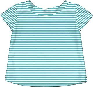 I Play Baby 760153-6307-48 Bebek Deniz T-Shirt, Turkuaz