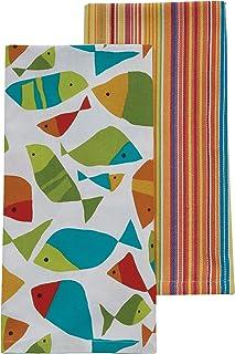 Split P Fabulous Fish Dishtowels