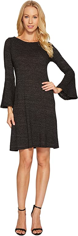 Nepp Jersey Flutter Sleeve Dress