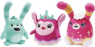 Abby Hatcher, Catch-a-Hug Bozzly, Princess Flug and Curly Fuzzly Plush (3-Pack)