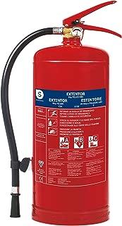 Smartwares FEX-15162 Extintor Polvo Seco Resistencia Al Fuego, 6 kg