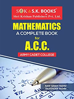 Mathematics For Indian Army ACC Exam