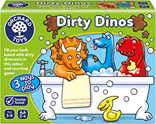 Orchard Toys Dirty Dinos Board Game, multi-colour