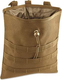 Tactical Molle Drawstring Magazine Dump Pouch Utility Tool Belt Holder Oganizer Carrier Ammo Hip Waist Bag Packs