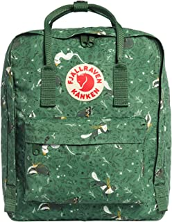 Kanken Art Special Edition Backpack for Everyday, Green Fable