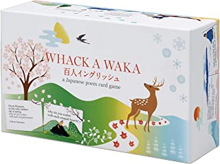 Whack A WAKA Hyakunin-Isshu English Karuta (Japanese Reading Card Game Karuta)