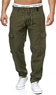 fca9aa87f03856 Amazon.fr : pantalon lin : Vêtements
