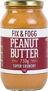 Fix & Fogg Gourmet Super Crunchy Peanut Butter 750g
