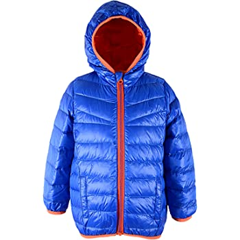 TuGui Baby Boys Girls Hoodies Winter Lightweight Down Jacket Outwear Packable Coats