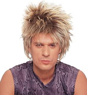 Costume Culture Men's Rocker Unisex Short Rocker Wig