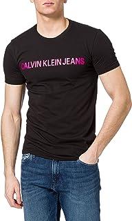 Calvin Klein Men's INSTITUTIONAL LOGO SLIM S/S T-Shirt