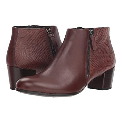 ECCO Shape M 35 Ankle Boot (Mink/Bison Cow Leather) Women