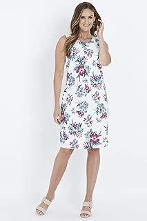 W.Lane Floral Linen Dress - Womens