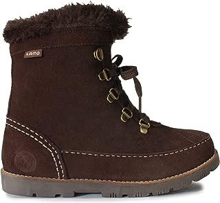 Lamo Taylor Faux Fur Collar Black Boot