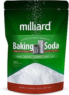 Milliard 10lbs Baking Soda / Sodium Bicarbonate USP - 10 Pound Bulk Resealable Bag