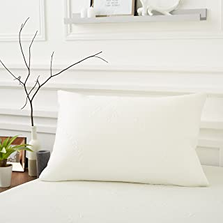 Sweetnight – Pillow Protector 50 x 70 cm | Silky and Comfortable Viscose | Soft and Absorbent | Zip Closure | Luxury Hotel...