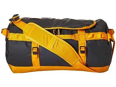 The North Face Base Camp Duffel Small (Aspahlt Grey/Zinnia Orange) Duffel Bags