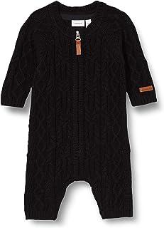NAME IT Body Niemowlęta - chłopcy Nbmwrilla Wool Ls Knit Suit Noos Xx