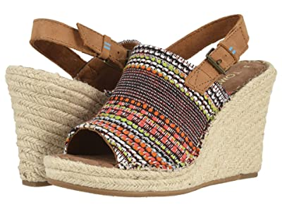 TOMS Monica (Cherry Tomato Global Woven) Women