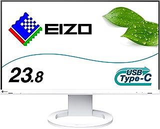 Eizo FlexScan EV2480-WT - 60 cm (23.8 Zoll), LED, IPS-Panel, Höhenverstellung, Pivot, speaker, USB-C, DisplayPort, HDMI