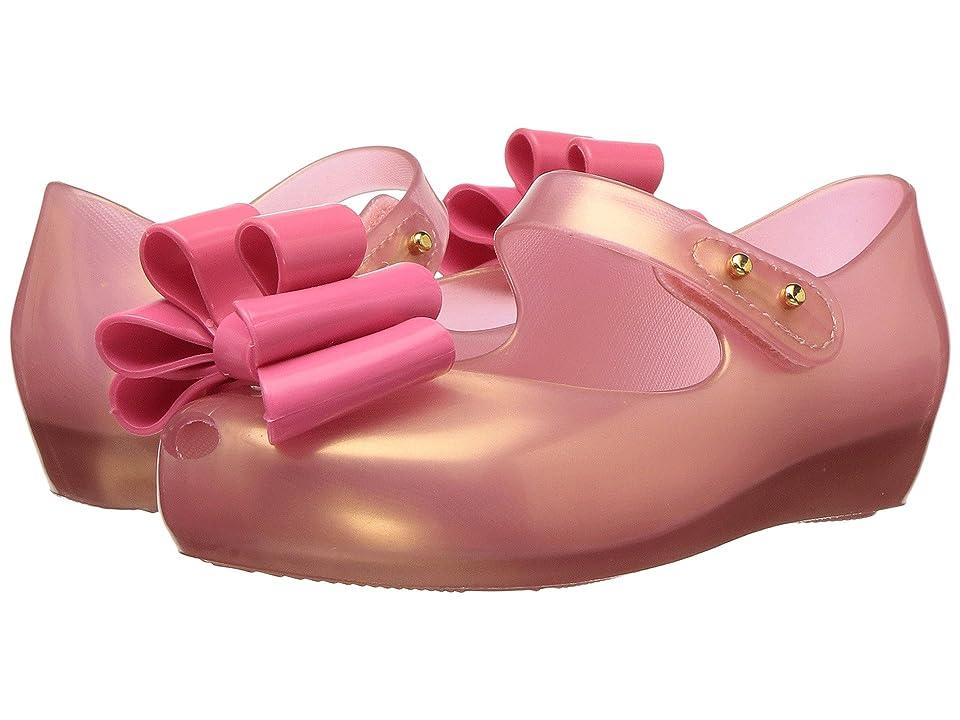 Mini Melissa Mini Ultragirl Sweet III (Toddler/Little Kid) (Light Pink/Pearl) Girl