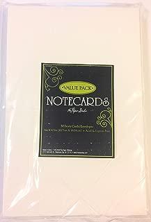 Ivory 5 x 6.5 Blank Card & Envelope Sets Value Pack, 50 ct.