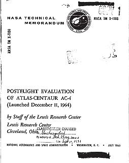 Postflight Evaluation of Atlas-Centaur AC-4 (Launched December 11, 1964)