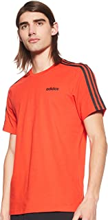 adidas Mens Essentials 3-Stripes Tee T-Shirt